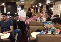 Những chuyến tàu đêm miễn phí trên hành trình World Cup