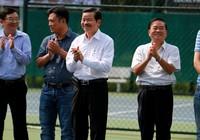 Doanh nghiệp và lãnh đạo tranh tài quần vợt