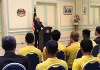 Thủ tướng Mahathir chúc Malaysia thắng Việt Nam