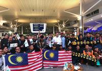 Fan Malaysia ùn ùn sang Việt Nam xem chung kết AFF Cup 2018