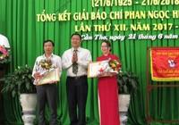 Trao giải báo chí Phan Ngọc Hiển lần thứ XII
