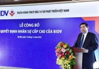 Ghế nóng chủ tịch Ngân hàng BIDV chính thức có người ngồi