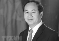 Quốc tế chia buồn về sự ra đi của Chủ tịch nước Trần Đại Quang