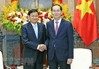 Lào để quốc tang Chủ tịch nước Trần Đại Quang trong 2 ngày