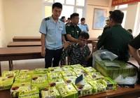 Máy quét phát hiện 25kg ma túy đá và 52 bánh heroin