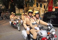 Hà Nội sẽ sáp nhập 2 phòng cảnh sát giao thông