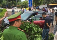 Vừa bị phạt 22 triệu, xe Mazda 3 lại gây tai nạn