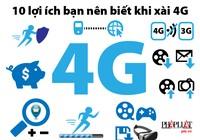 10 lợi ích bạn nên biết khi xài 4G