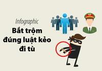 Công an hướng dẫn cách bắt trộm đúng luật