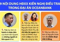 9 nội dung HĐXX kiến nghị điều tra trong vụ OceanBank