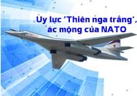 Uy lực 'Thiên nga trắng', ác mộng khủng nhất của NATO