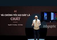 Bphone 3 và phát ngôn 'chất phát ngất' của CEO Nguyễn Tử Quảng