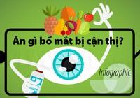 Thay vì dùng kính 'thần', nên ăn gì bổ mắt bị cận thị?