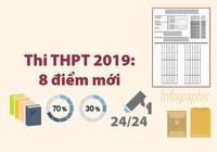 8 điểm mới của kỳ thi THPT 2019