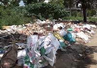Cư dân bức xúc vì nạn đổ rác trộm