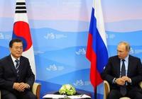 Tổng thống Hàn Quốc sang thăm Nga
