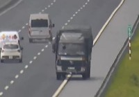 Xử lý tài xế chạy ngược chiều gần 10 km trên cao tốc