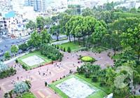 Từ ga xe lửa biến thành công viên