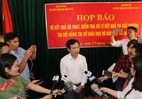Gian lận điểm thi ở Hà Giang: Phải khởi tố, xử nghiêm!
