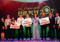 Lễ công bố giải Fair Play 2018: Hành trình niềm tin