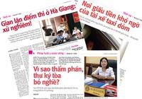 Ai là người đề nghị nâng điểm thi ở Hà Giang?