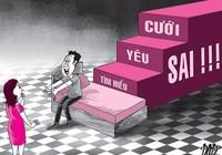 'Sex, tìm hiểu, yêu và cưới' - chia sẻ rất nguy hiểm!