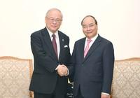 Thủ tướng tiếp cố vấn Liên minh Nghị sĩ hữu nghị Nhật-Việt