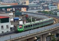 Hôm nay, chạy thử 13 đoàn tàu metro Cát Linh