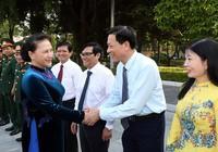 Chủ tịch Quốc hội dự lễ khai giảng Học viện Quốc phòng
