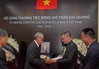 Lãnh đạo nhiều nước đến viếng Chủ tịch nước Trần Đại Quang