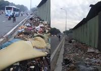 Đã dọn bãi rác khổng lồ giữa phố