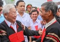 Tổng Bí thư, Chủ tịch nước dự ngày hội Đại đoàn kết ở Đắk Lắk