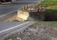 Đã phá bỏ 'bàn chông' trên xa lộ Hà Nội