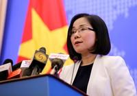 Việt Nam phản đối Trung Quốc lắp đặt trên đá Bông Bay