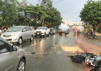Bình Dương: 2 vợ chồng bị xe bồn cán chết thương tâm