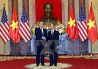 Tổng thống Mỹ chia buồn Chủ tịch nước Trần Đại Quang từ trần