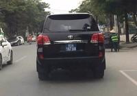 Nghệ An bán xe công Land Cruiser VX do doanh nghiệp tặng