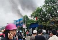 Cháy quán Coffee karaoke, người dân hốt hoảng