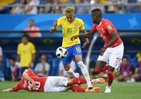 Brazil – Thụy Sỹ (1-1): Hòa mà như thua!