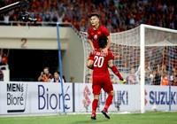 Đội tuyển Việt Nam vô địch về số cầu thủ ghi bàn ở AFF Cup