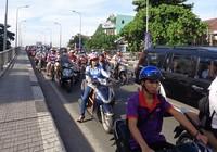 Phân luồng giao thông khu vực cầu Chữ Y
