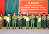 Công an tỉnh Thanh Hóa có thêm 4 phó giám đốc