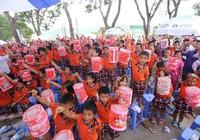 Vinamilk mang sữa cho trẻ em Vĩnh Phúc dịp Tết Trung thu