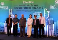 VWS tặng 6 xe chở rác của Mỹ cho TP.HCM, Long An, Kiên Giang