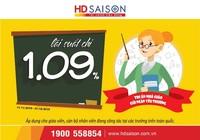 HD SAISON ưu đãi lãi suất nhân dịp 20-11
