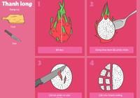 Bí quyết cắt gọt hoa quả ngày Tết nhanh và đẹp