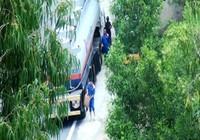 Vụ rút ruột xăng dầu xuyên đèo Hải Vân: Đình chỉ 5 tài xế