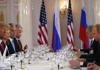 Kết thúc song phương, hai ông Trump-Putin ăn trưa
