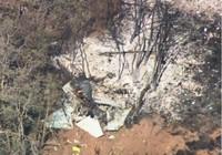 Máy bay quân sự Mỹ rơi, phi công nhảy dù thoát  