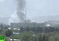 Dinh tổng thống, khu ngoại giao Afghanistan hứng 12 tên lửa